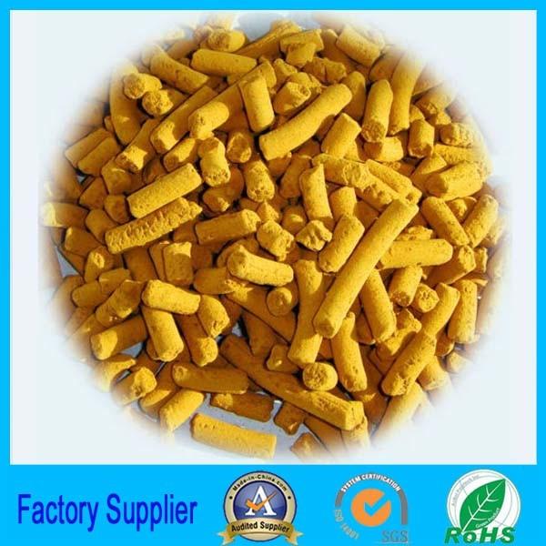 Solid Catalyst Iron Oxide Desulfurizer Biogas Desulfurization Agent