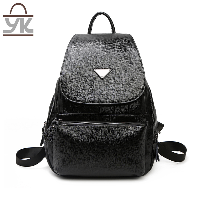 Leisure PU Leather Women Backpack