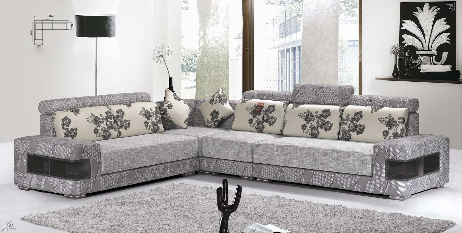 Sofa modern grau  Sofa In L Form. l form sofa design and decorate your room in 3d ...