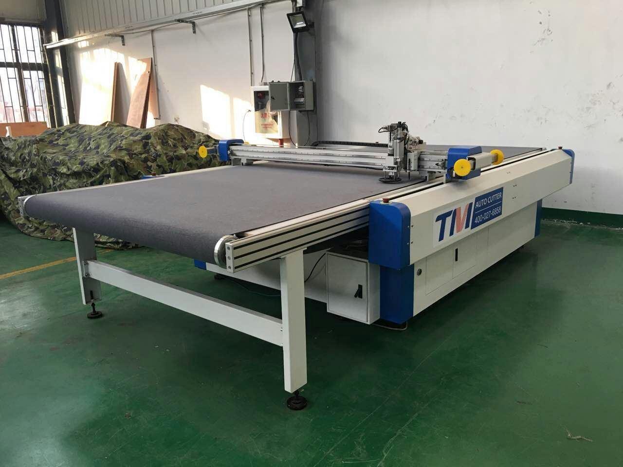 Vibration Knife CNC Fabric Cutting Machine