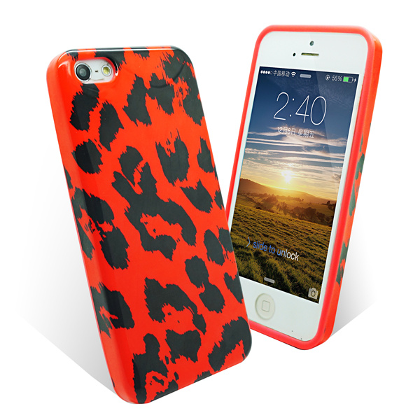Custom Cell Phone Rubber Cover for iPhone