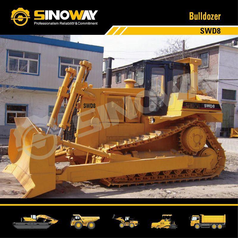 Sinoway Bulldozer Swd8 with 320HP Cummins Engine