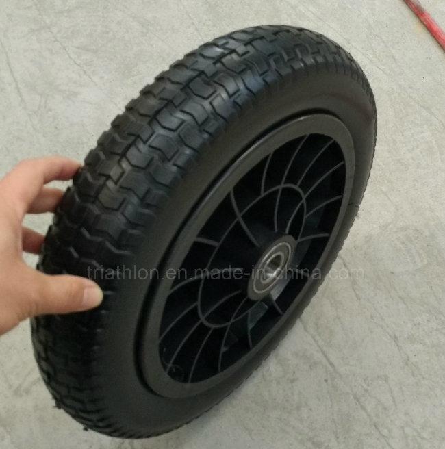 4.00-8 4.00-10 6.50-8 Turf Flat Free PU Foam Tire