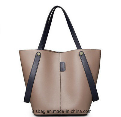 PU Soft Tote Bag Fashion Pure Color Shoulder Bag