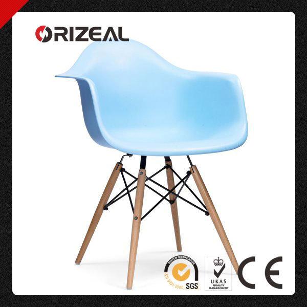 Replica Home Furniture Modern Designer Eames Daw PP Plastic Leisure Chair (OZ-1153W)