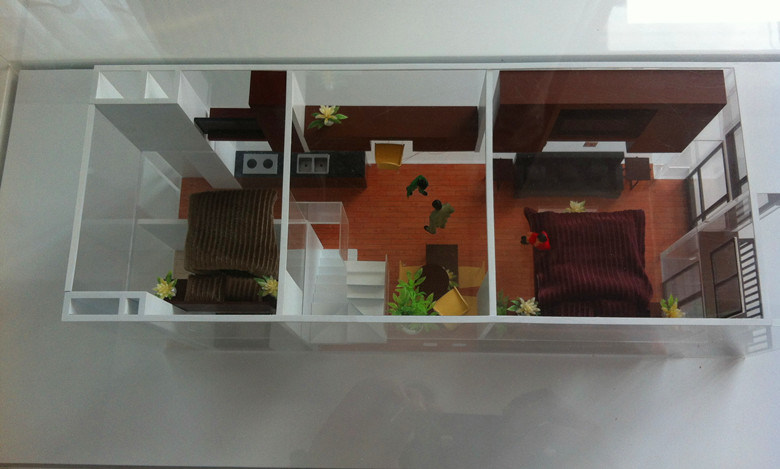 Architectural Model of Unit Internal Layout (JW-383)