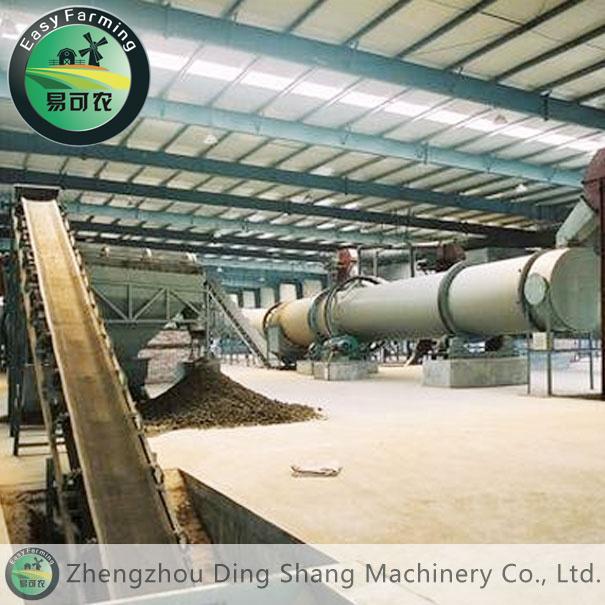 Cow Manure Organic Fertilizer Production Line