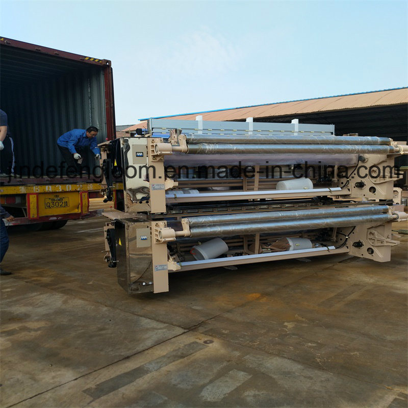 Electronic Double Nozzle Weaving Machine Dobby or Cam Waterjet Loom