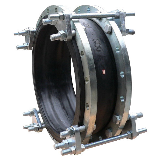 "Rubber Expansion Joint Screwed or Flanged DIN Pn10-16 BS4504 ANSI Cl150 Flanged Type Size Dn25-Dn600 or Screwed Type 1/2""-3"" with Tie Rods"