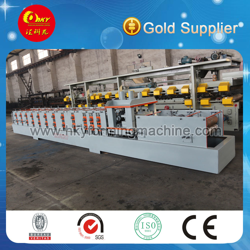Metal C Z U Shape Purlin Roll Forming Machine with Pre Cutting Device