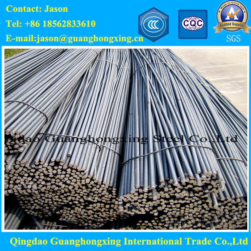 Ks SD400, SD300, JIS SD390, SD490, ASTM A615, A706 Deformed Steel Rebar