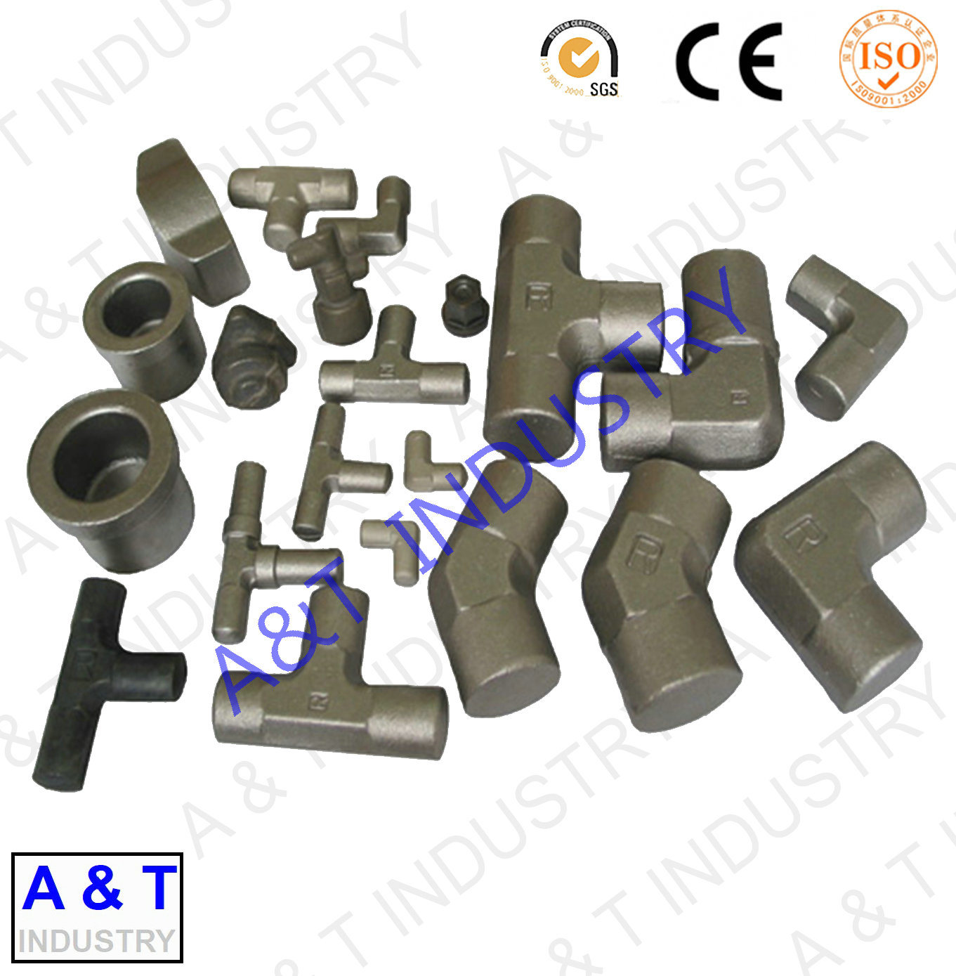 High Strength Forged Parts Semi Trailer Tow Hitch with High Quality