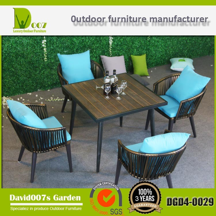 Outdoor Furniture Dining Coffee Table and Chair Set Dgd4-0029