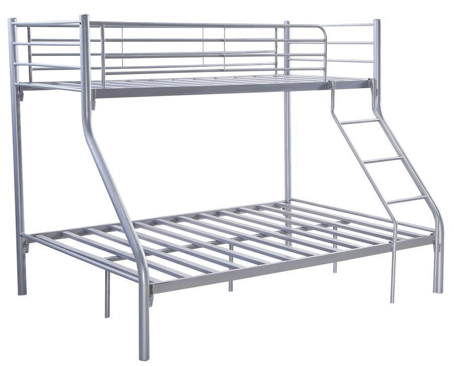 Cheap Price Kd Steel Metal Tubes Triple Bunk Bed
