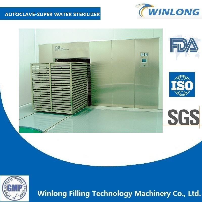 Autoclave Hot Water Sprinkling Sterilizer