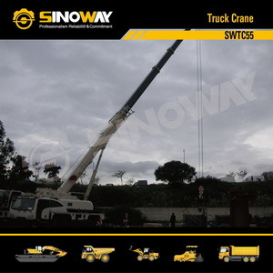 Mobile Crane with 55 Ton Lifting Capacity (SWTC55)