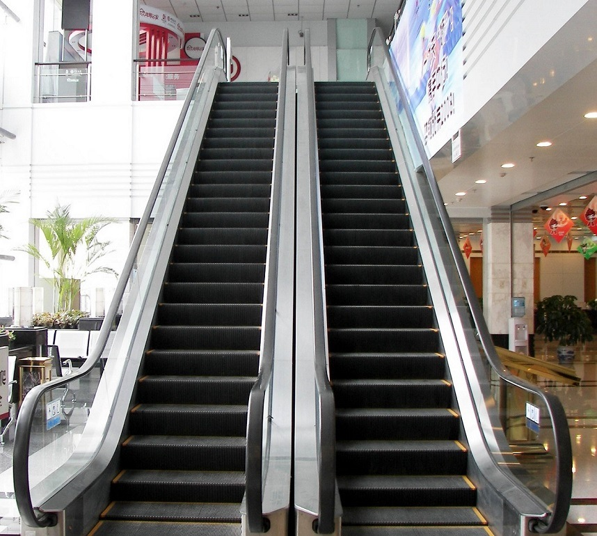 Stainless Steel Escalators : China aksen escalator stainless steel step commercial type