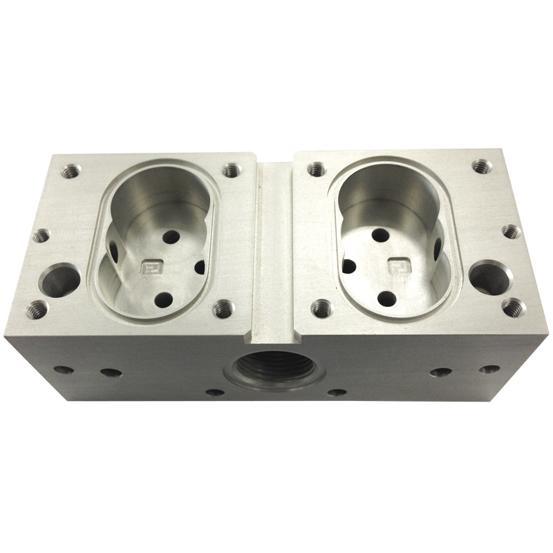 Stainless Steel Machining Housing for Hydraulic Accessories (DR019)