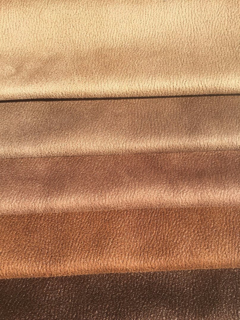 Leather Looking Suede Fabric Sofa Fabric (OML)