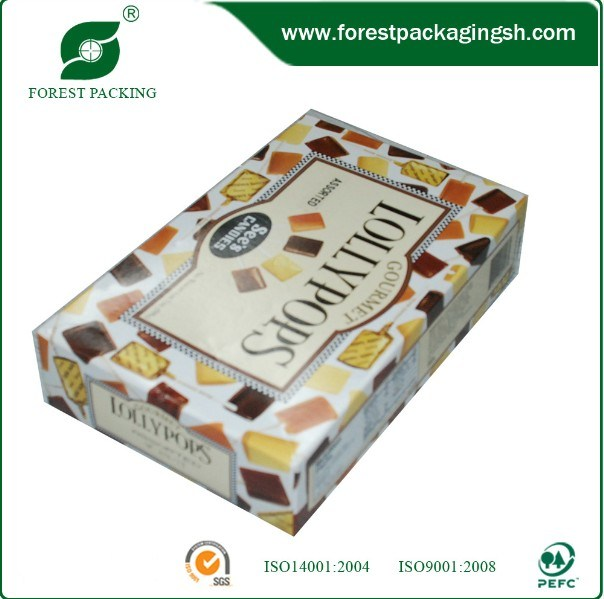 Ivory Cardboard with Printing Paper Box