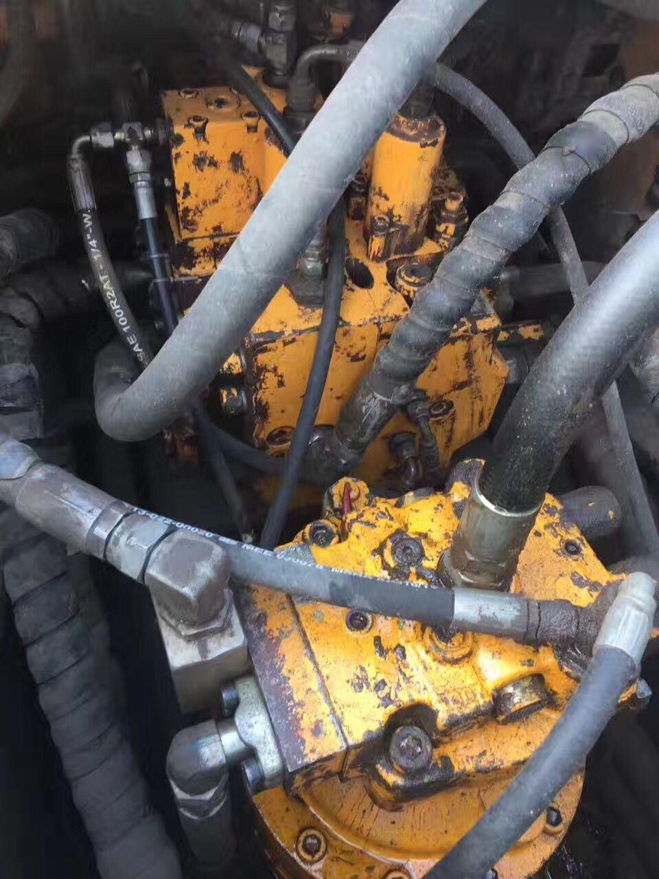 Hot Sale Hyundai Good Working Condition Used Hydraulic Crawler Excavator Hyundai R225-7 (construction equipment2011)