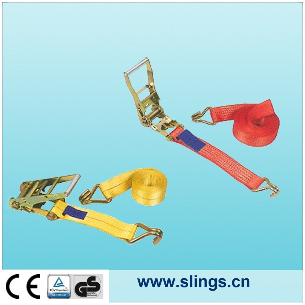 Breaking Load 1500kg 25mm Width Ratchet Straps
