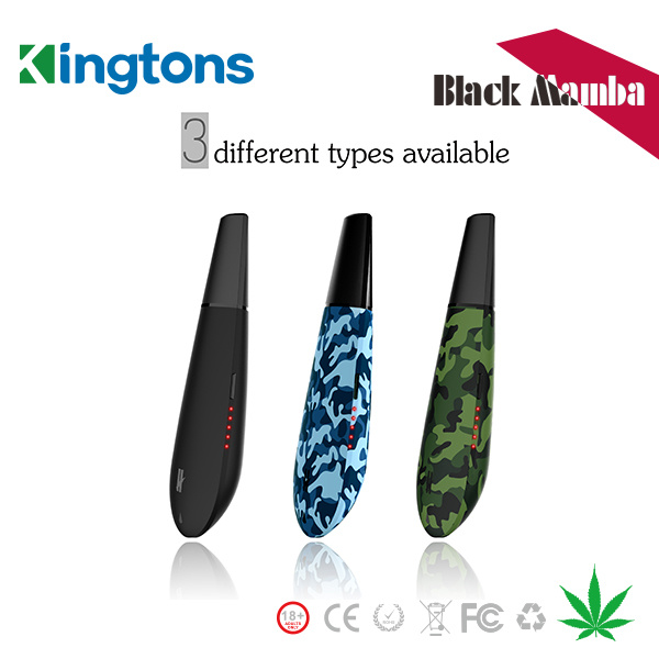 New Product 2016 Kingtons Black Mamba Vaporizer with Patent Protection