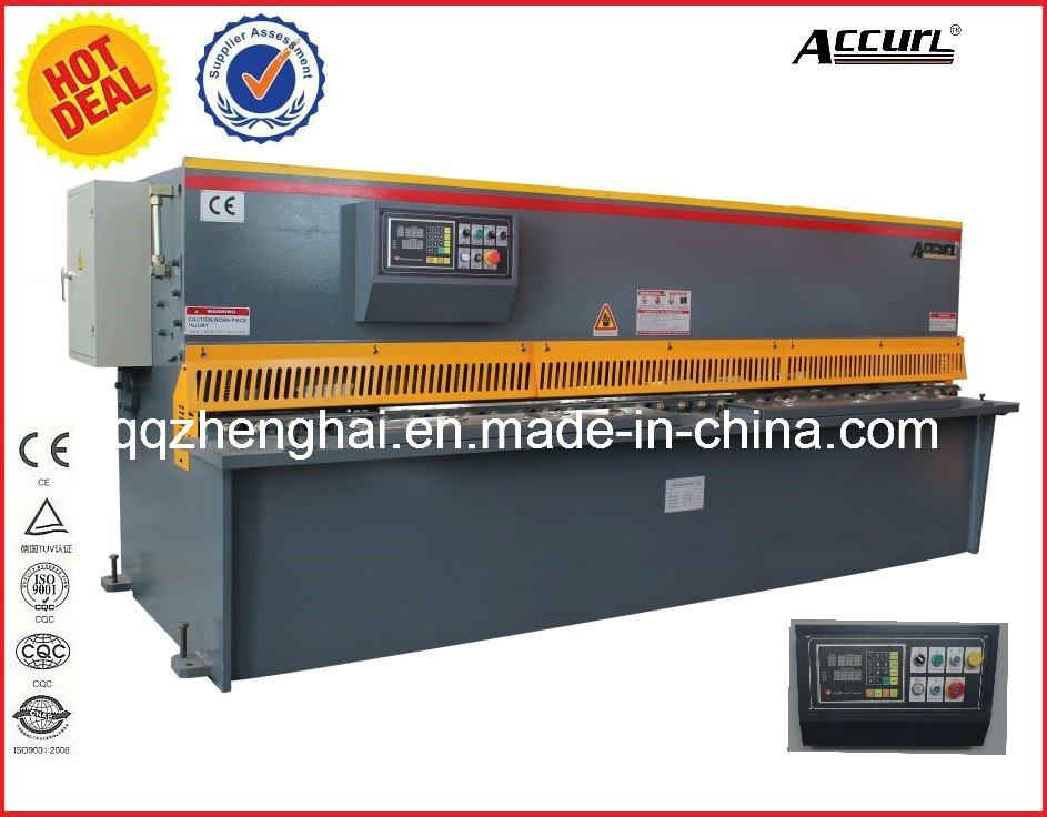 Hydraulic QC12y-4*2500 with CE Certificate Popular in USA and EU Hot Sale Product Shearing Machine