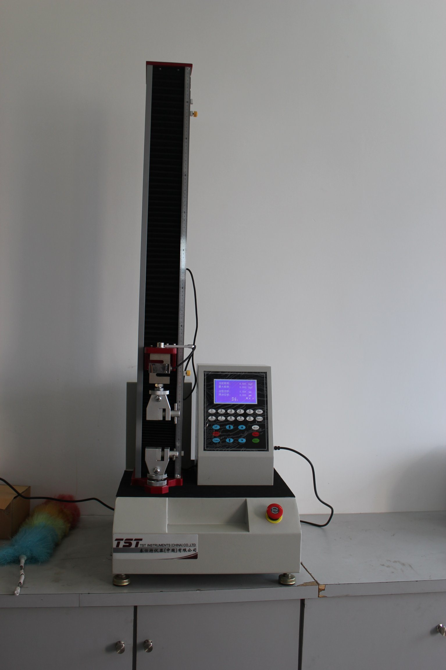 Single Column Wire Elongation Strength Tester