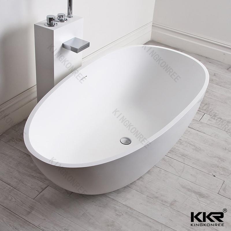 Sanitaryware Artificial Marble Stone Freestanding Hot Bath Tub (BT170808)