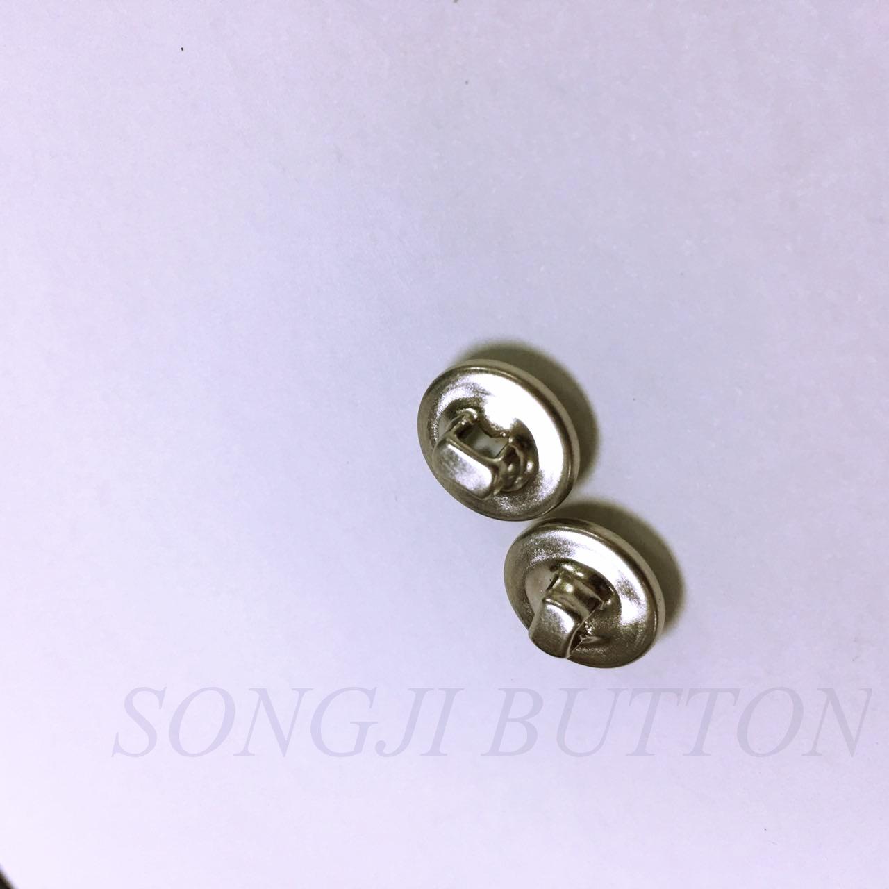 New Design Printed Pearl Cap Au Shank Button