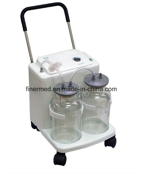 Emergency Ambulance Portable Suction Machine with Rechargeable Battery