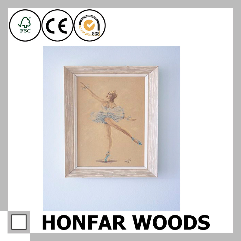 New Modern Home Decoration Wood Baby Photo Frame
