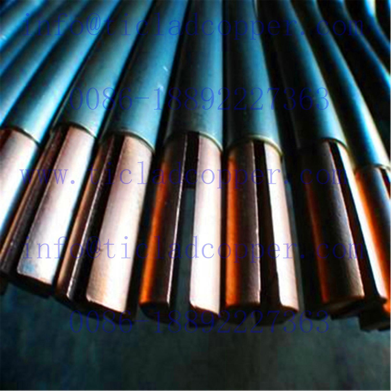 Titanium Clad Copper Bar for Copper Foil Electrowinning