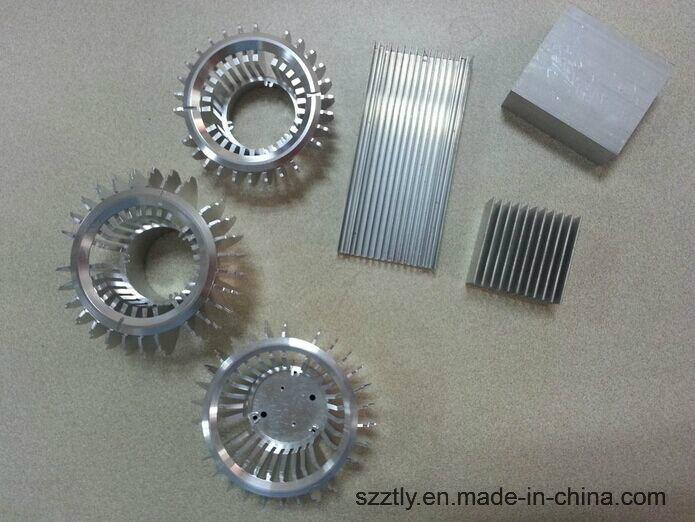 Anodizing Aluminum/Aluminium Extrusion Alloy Profile Radiator / Heat Sink