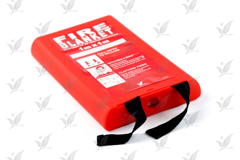 Fiber Glass Fire Blanket for Home School