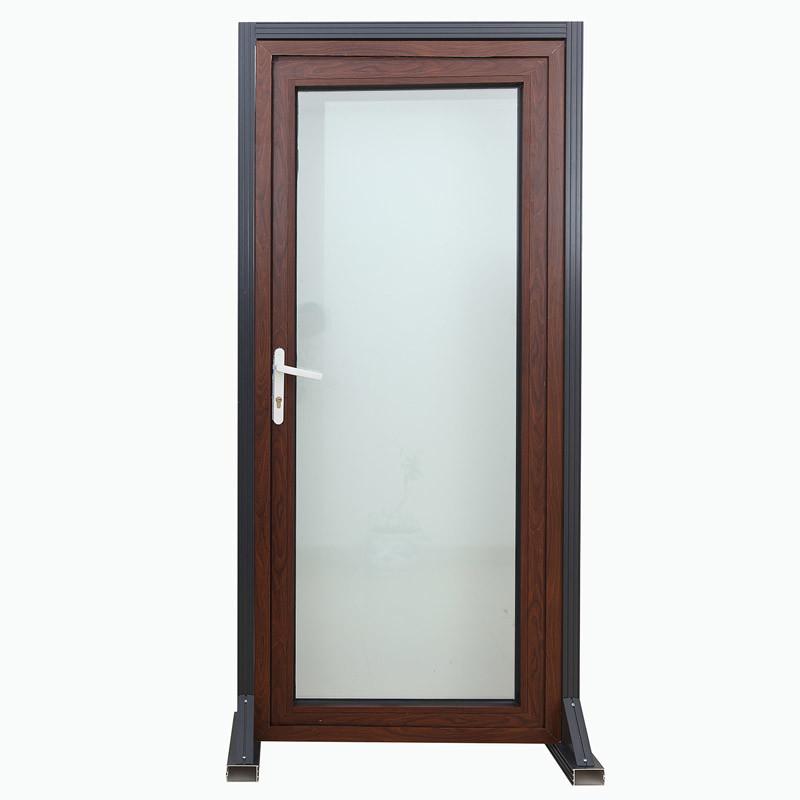 Competitive Glazing Aluminum Alloy Casement Door