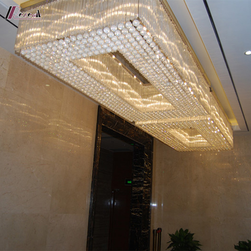 Crystal Hospitality Lighting for Hotel Decoration