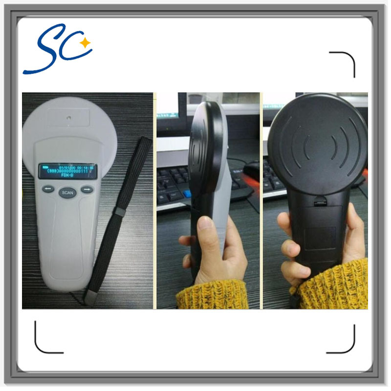 134.2kHz Animal Tag Scanner for Read Animal Ear Tag