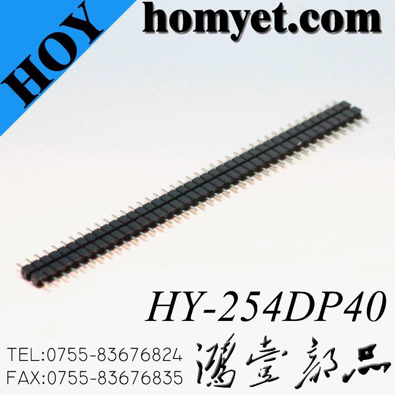 2.54mm 180 Single Row 40p Male Pin Header