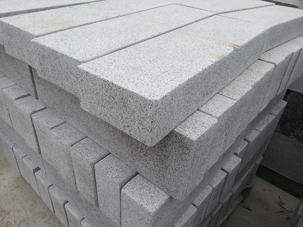 Granite Exterior Pattern Driveway Paving Stone Cube Stone