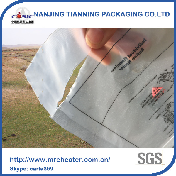 Ts14969 Certification Good User Feedback Removable Replacement Water Ractive Heating Bag