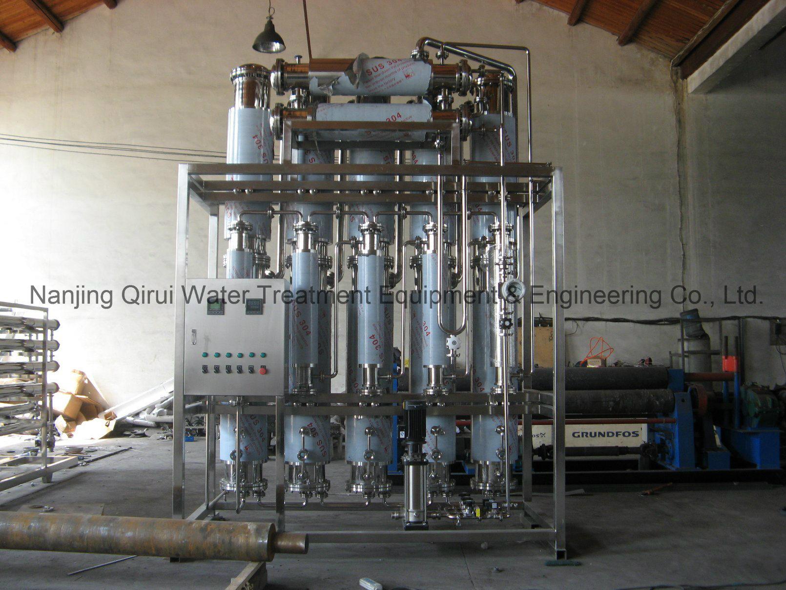 Multi effect Distilled Water Machine Nanjing Qirui Water