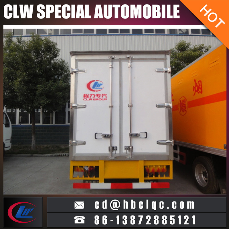 China Low Price Mini Capacity Meat Transport Refrigerated Truck Body
