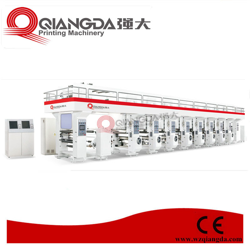 Computerized 8-Color High-Speed Rotogravure Printing Machine (QDASY-A)