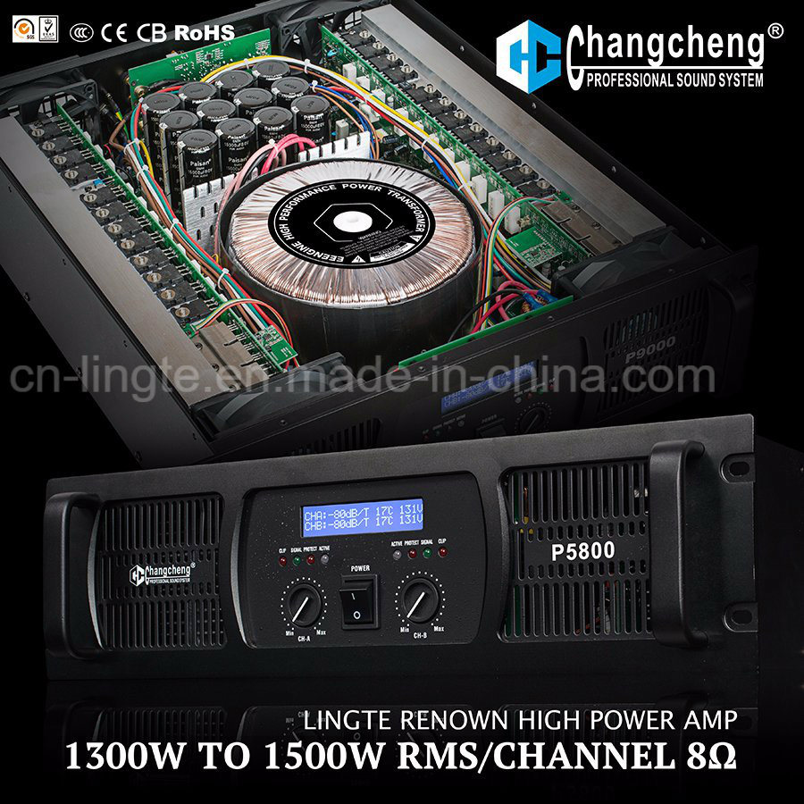 P LCD High Power Series Professional Power Amplifier