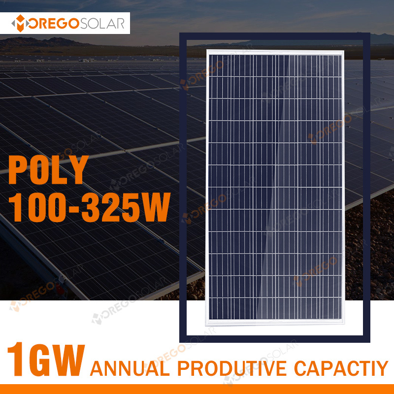 Morego Poly Solar Panel / Module 100W - 320W for System