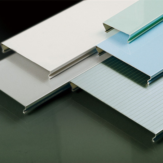 Interior Design Aluminum Linear C-Shaped Strip False Ceiling