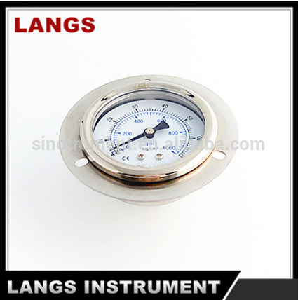 017 Pressure Gauge Oil Quality Pressure Manometer