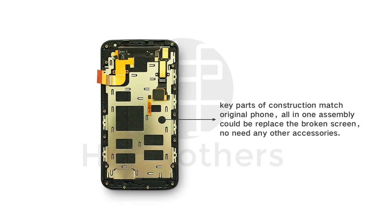 Touch Scrren Mobile Phone LCD for Moto X2 Touch Panel
